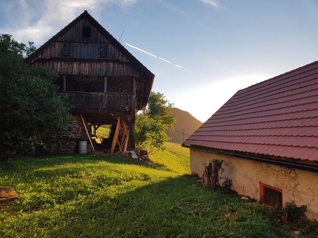 Деревня Подкум