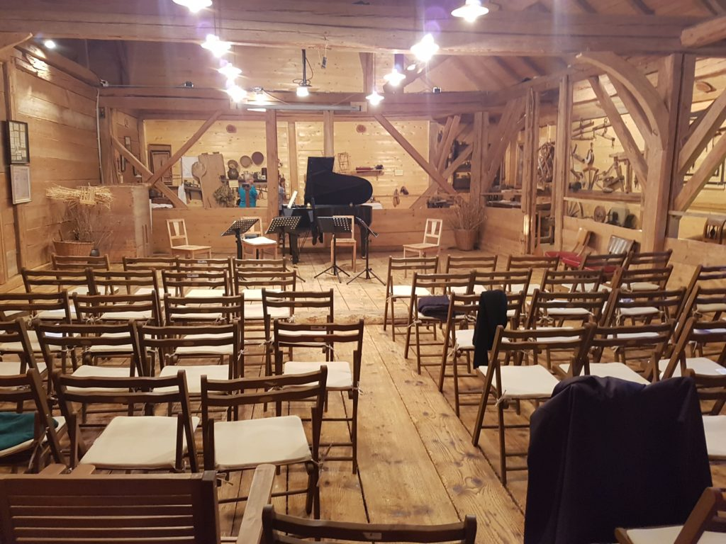 Как сделать концертный зал из деревенского музея