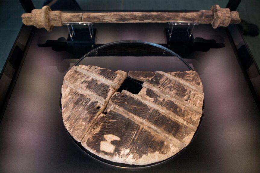 Самое старое колесо на свете