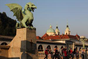 Дракон - символ Любляны