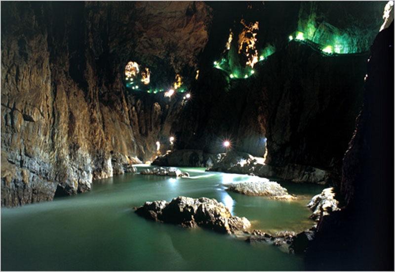Шкоцьянские пещеры