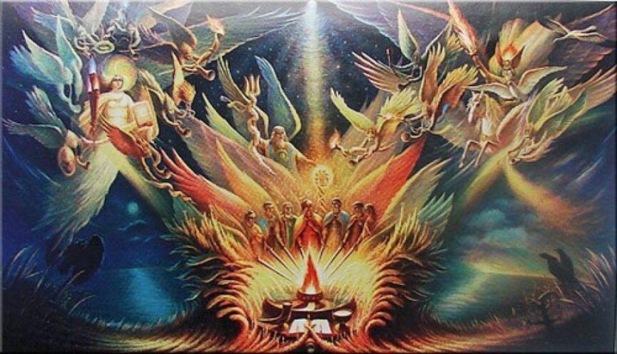Гороскоп древних славян, Боги Нави, Яви и Прави