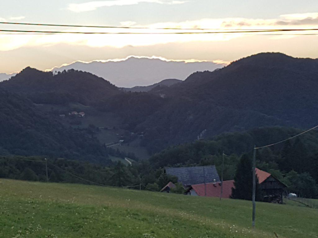 Вид с горы Подкум