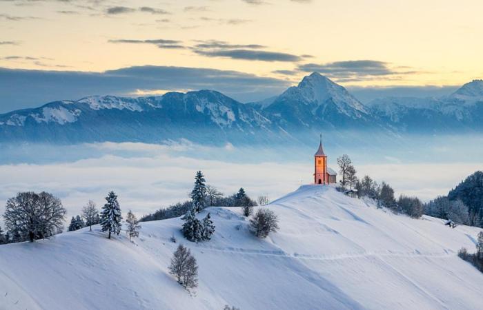 Зимняя Словения, Ямник
