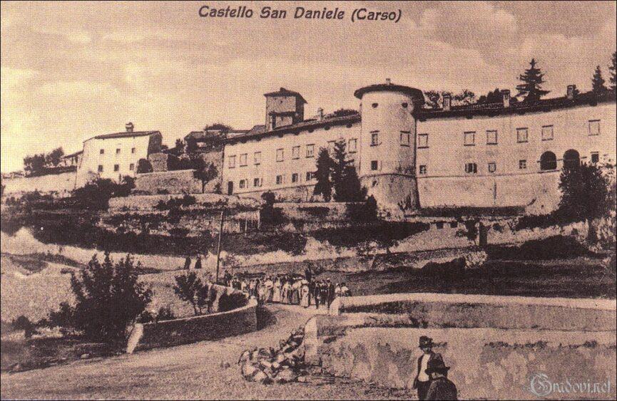 Открытка со Штаньелем, конец 19-го века, фото с сайта gradovi.net