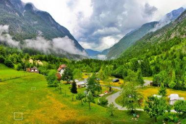 Словения ледниковая долина Бовец