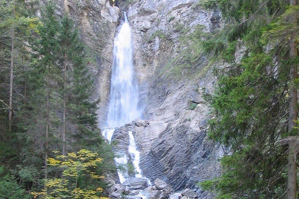 Водопады Мартулька