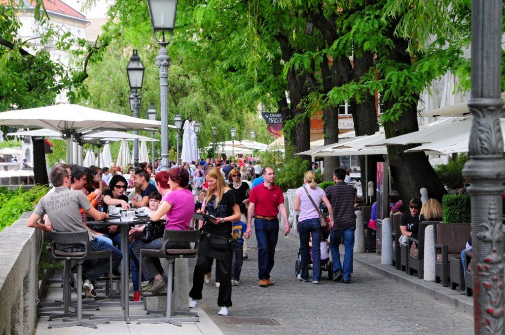 Кофейни в Любляне