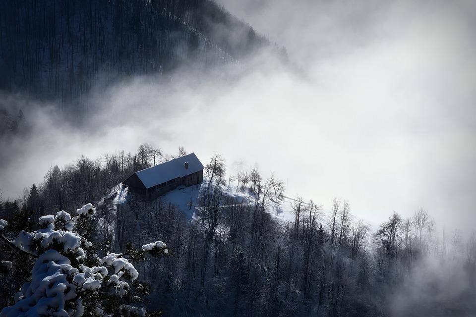 Зима в Словении