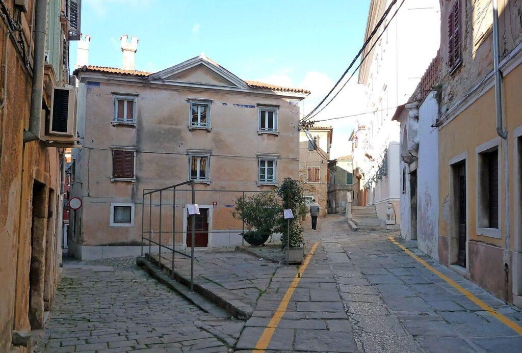 Изола, старый город