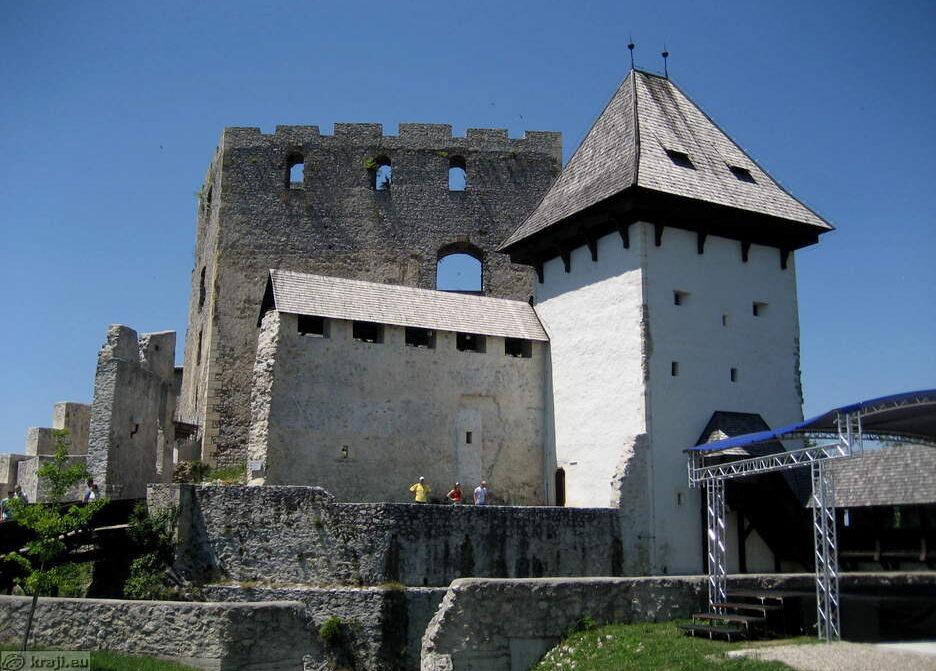 Башня св. Андрея в Цельском замке