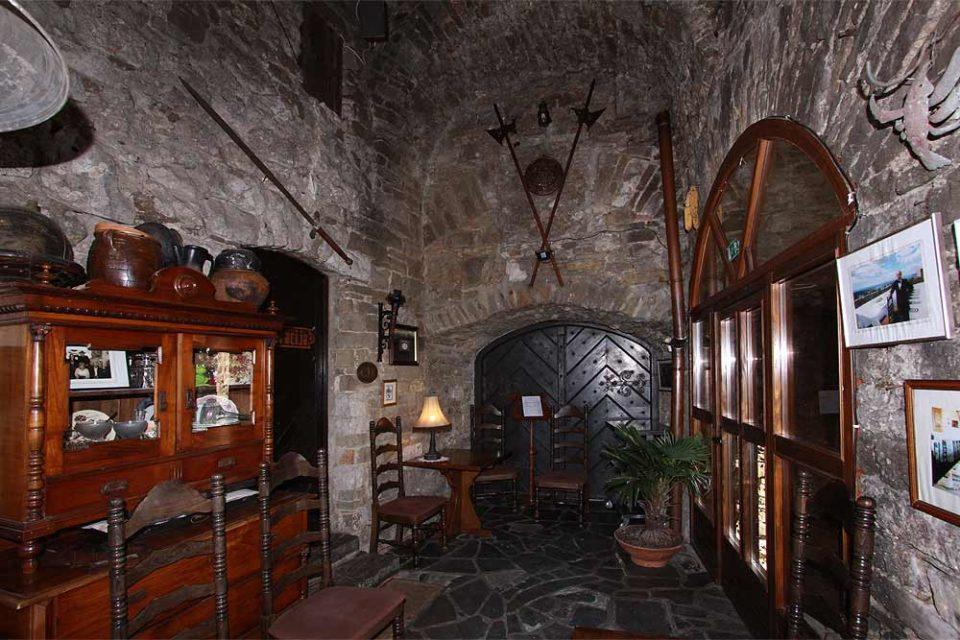 Замок Соцерб, ресторан