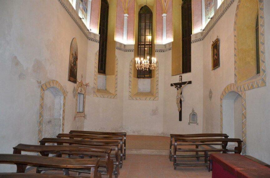 Капелла св. Юрия в Люблянском замке