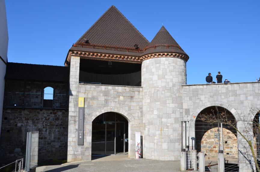 Люблянский замок внутри