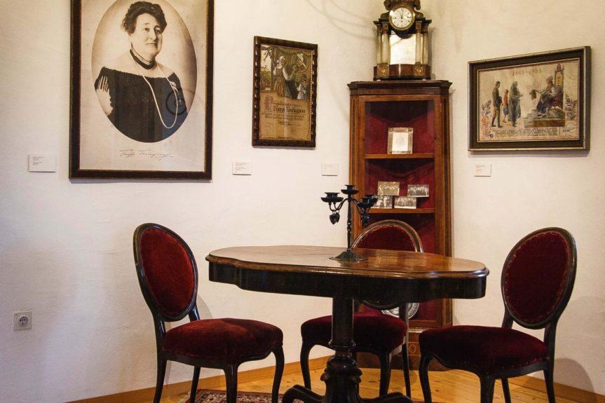Экспозиция в музее Шкофья Локи
