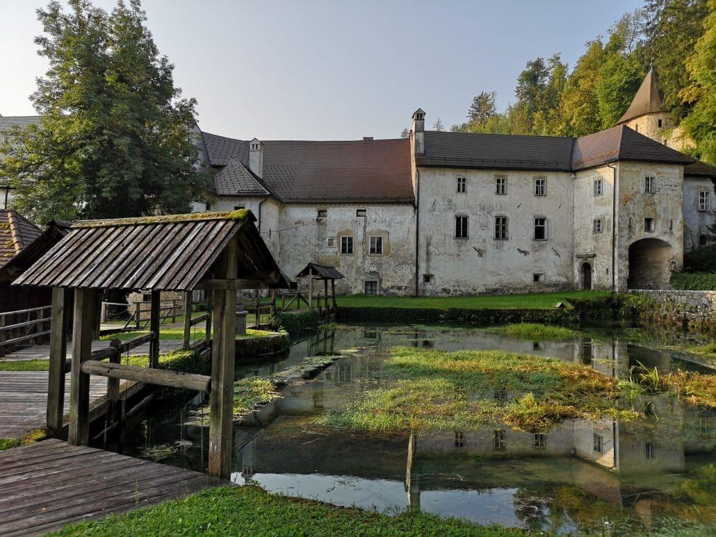 Замок-монастырь Бистра
