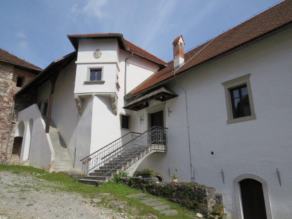 Внутренний двор замка Турьяк