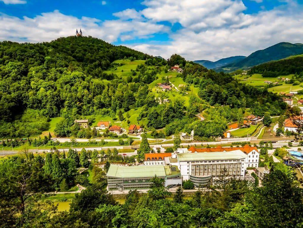 Словения, термы Лашко, природа