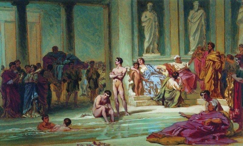 Термы в Древнем Риме