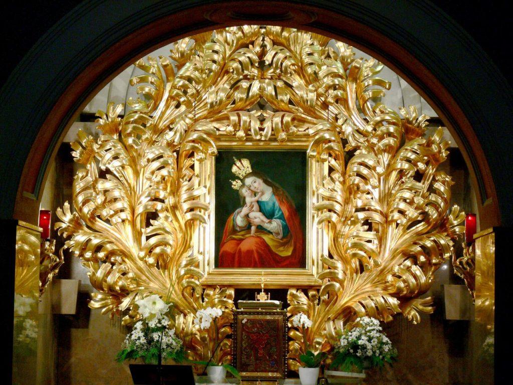 Чудодейственная икона Marija pomagaj