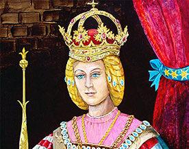 Королева Барбара Цельская во времена своего правления