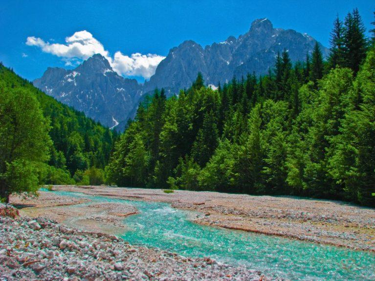 Долина Пишница - часть заповедника, где растут самые старые лиственницы в мире