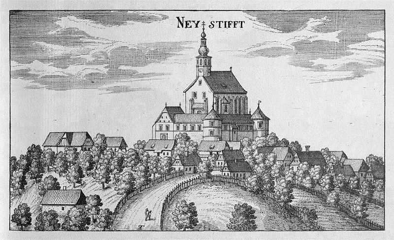 Птуйская Гора, гравюра 1681 года
