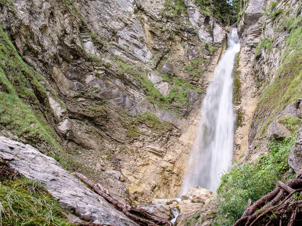 Водопад Мартулька в Словении