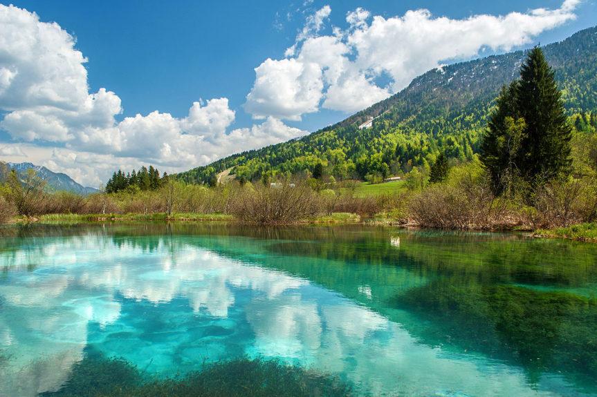 Словенское чудо - озеро Зеленцы