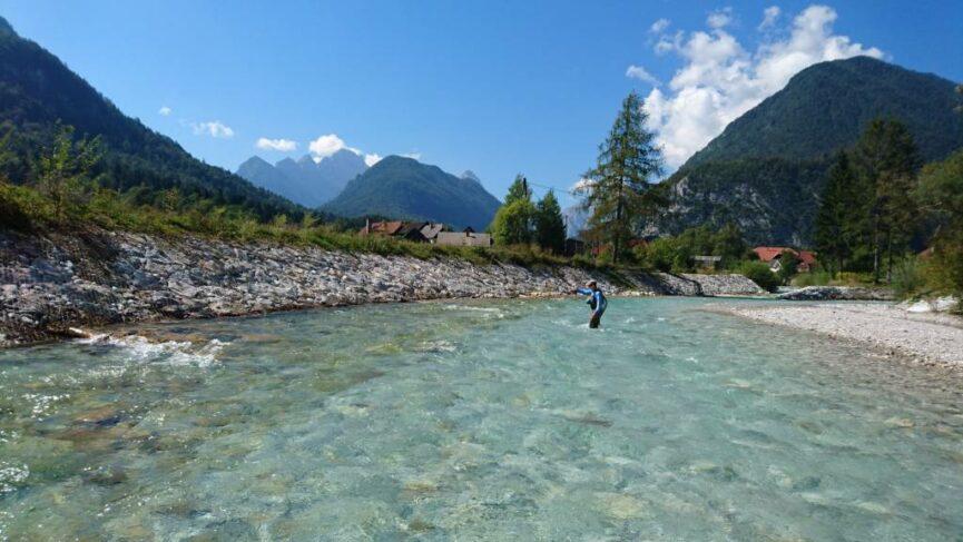 Река Сава Долинка в Словении