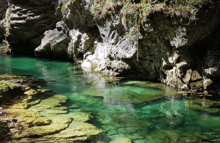 Река Радовна в ущелье Винтгар