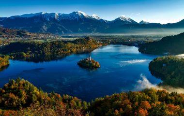 Жемчужина Словении озеро Блед