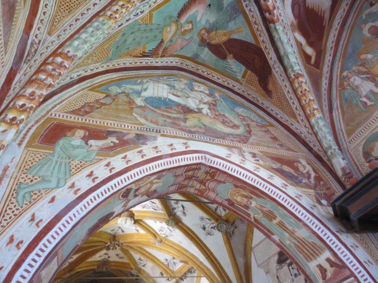 Фрески церкви св. Иоанна Крестителя на озере Бохинь