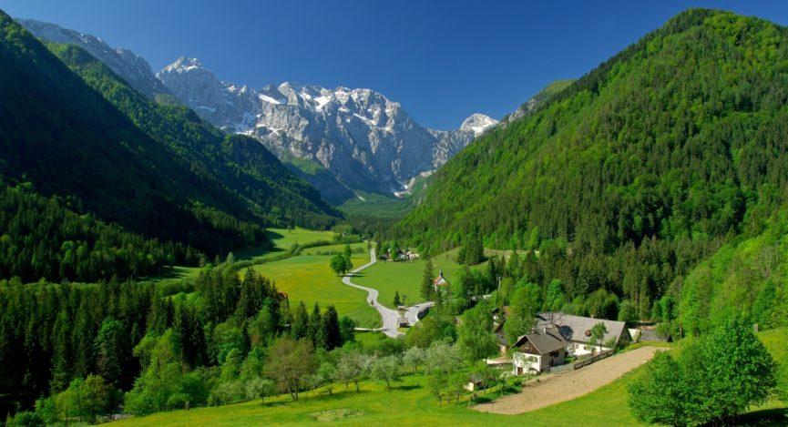 Ледниковая долина Словении