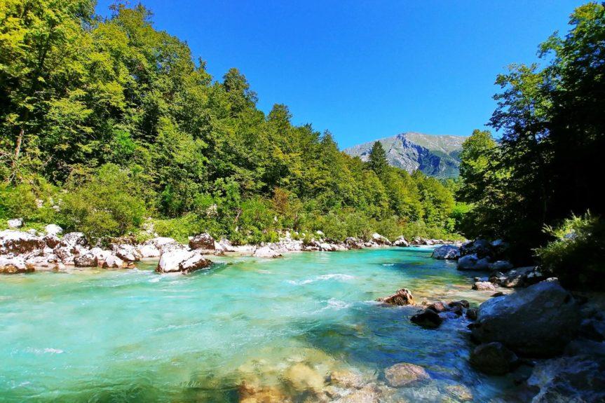 Река Соча и природа