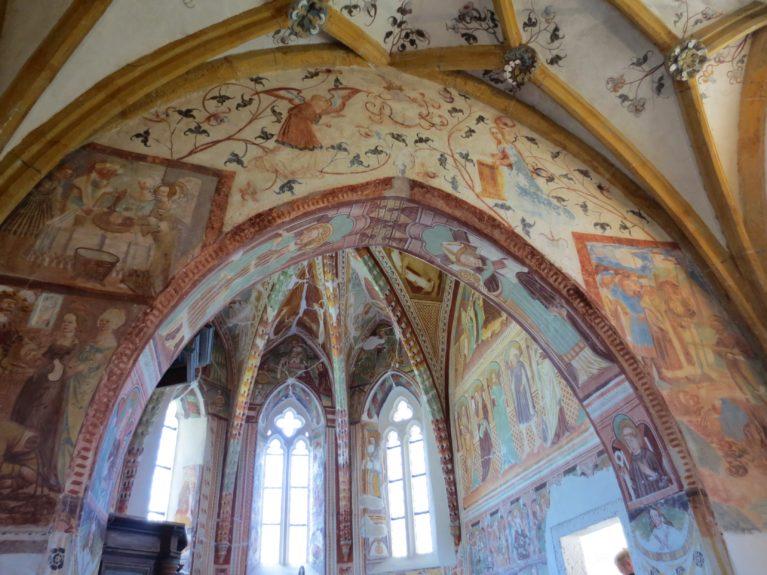 Внутренняя роспись церкви