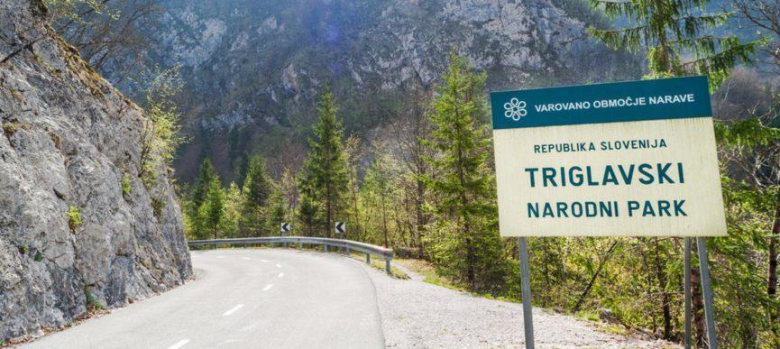 Табличка Республика Словения, Триглавский национальный парк