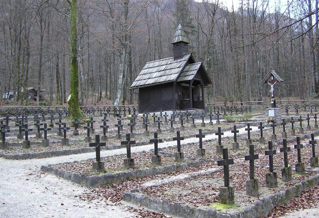 Кладбище павщим воинам Первой Мировой