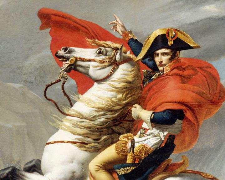 Наполеон Бонапарт на липицианце