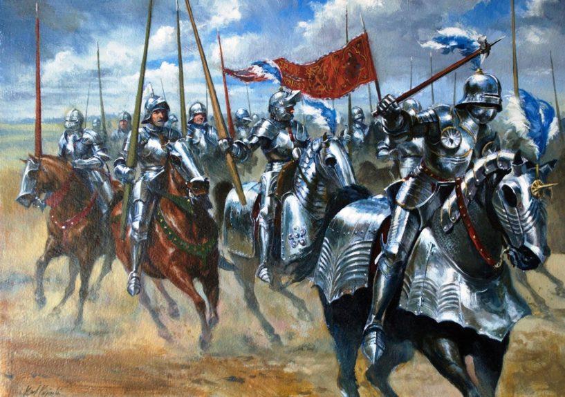 Лошади в Средневековье