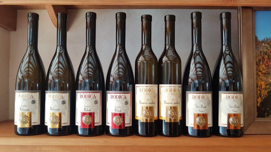 Словенское вино Родица