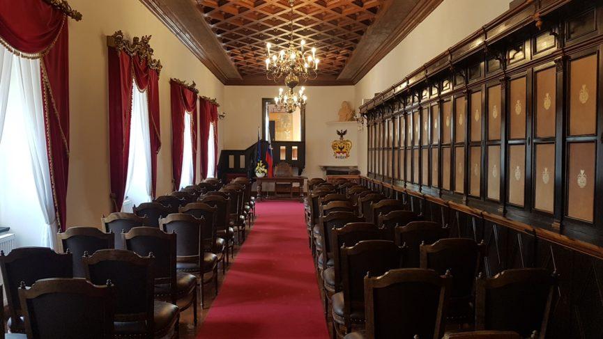 Комната, в которой находилась библиотека Вальвазора