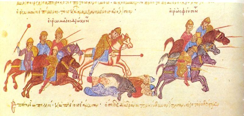 Битва между язычниками и христианами