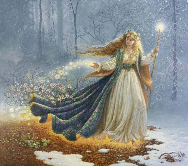 Богиня Лета и Жизни