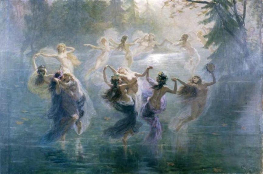 Танец мифологических существ - вил