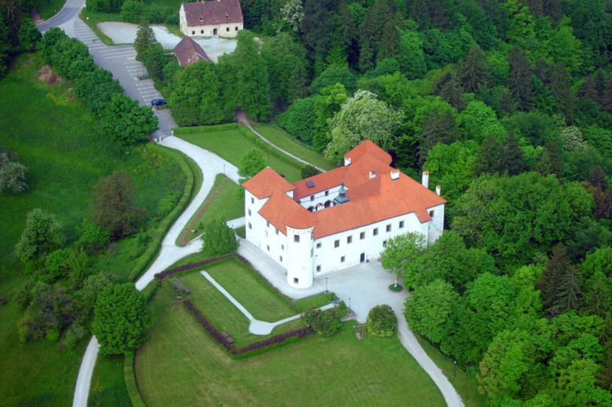 Замок в Словении эпохи Ренессанса