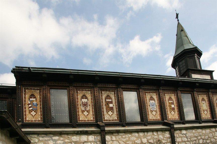 Гербы Австро-Венгерских провинций на церкви