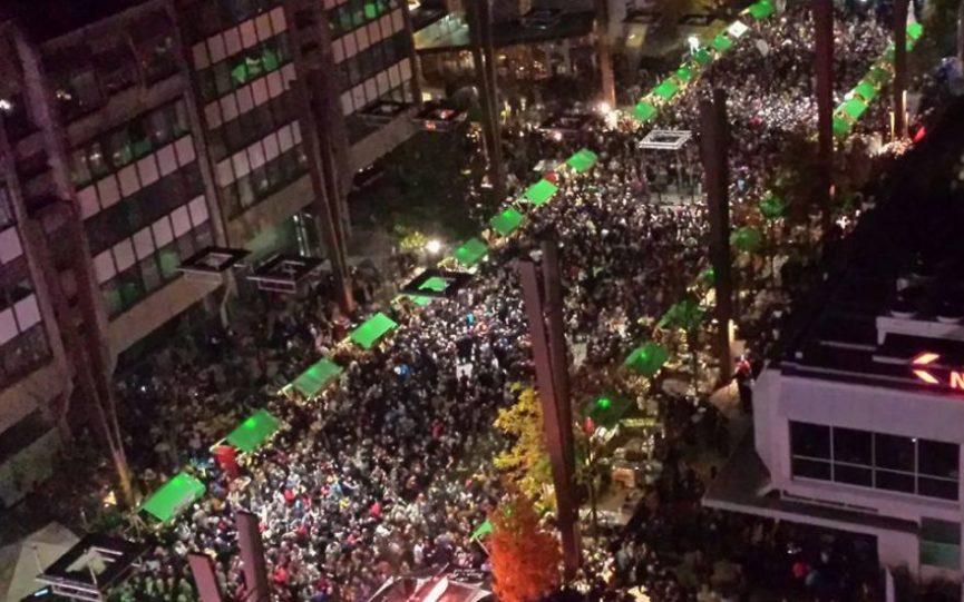 Праздник Мартинование в Мариборе