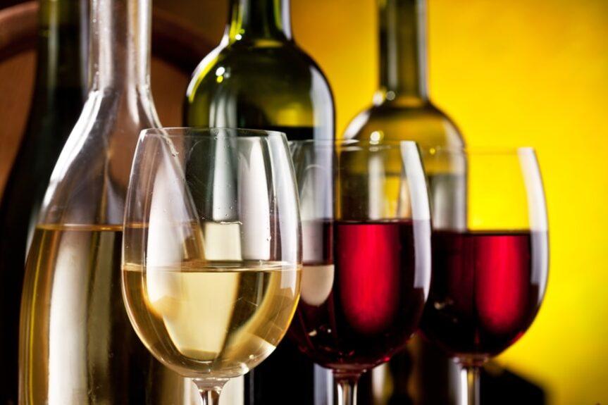 Молодое словенское вино