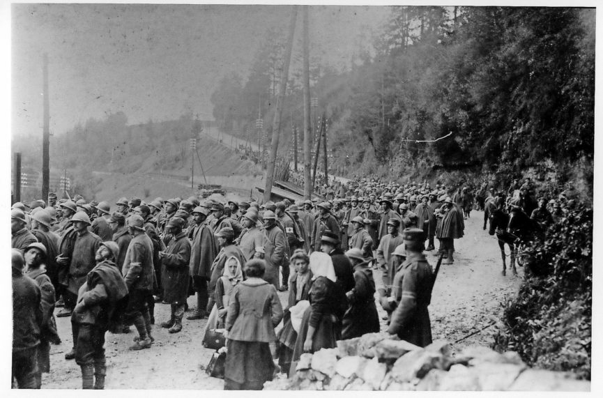 Первая мировая война в Словении